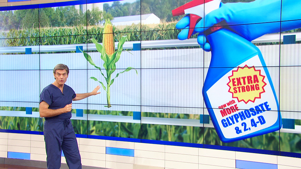 Dr. Oz Explains GMOs and the Dark Act