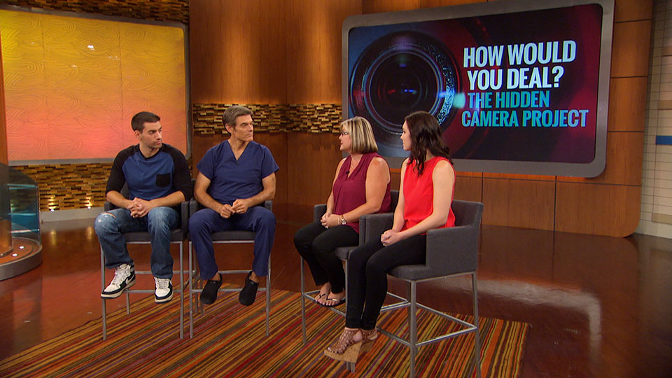 Viewers in Dr. Oz's Social Experiment Explain Their Reactions