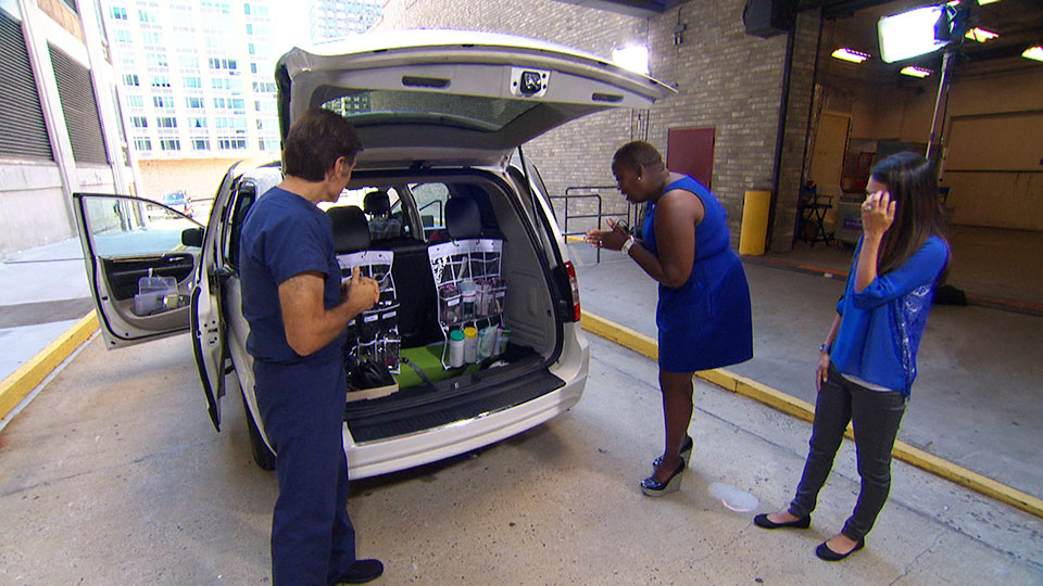 Dr. Oz Reveals Tomika's Car Makeover