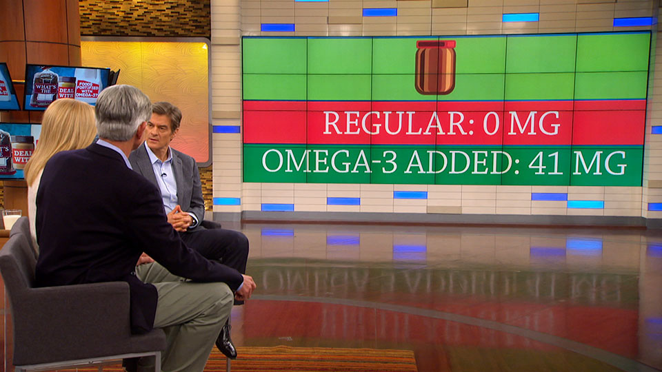 Do Omega-3 Fortified Foods Have More of the Fatty Acid?