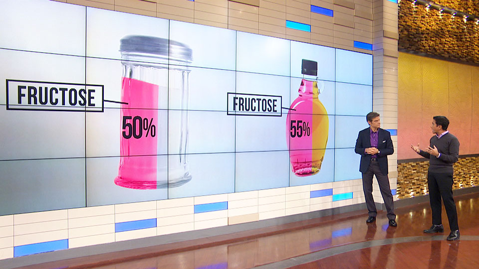 Dr. Oz Describes What Fructose Does to Your Body