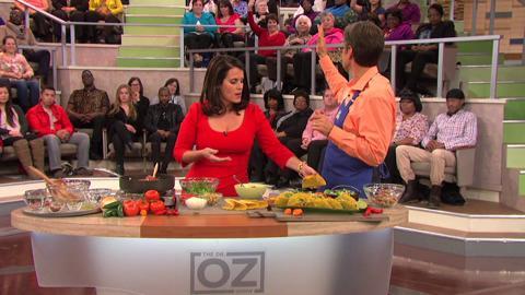 Lisa Oz and Dr. Oz Make Banana, Date, and Nut Muffins