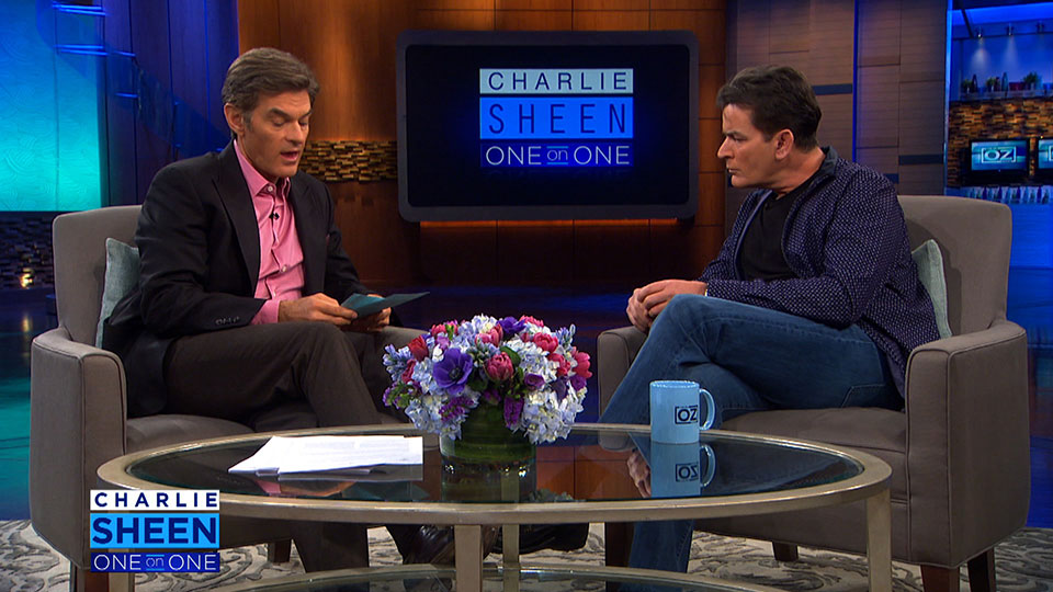 Charlie Sheen Answers Dr. Oz's Tough Questions