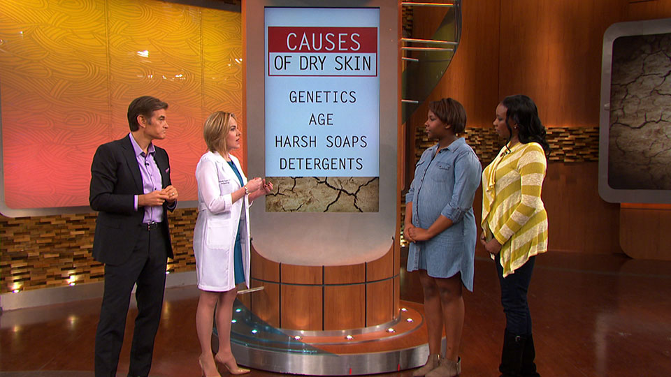 How Dry Skin Happens