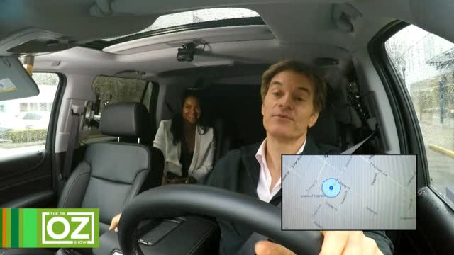 An Uber Ride With Dr. Oz and Arianna Huffington
