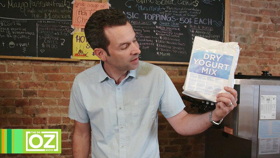 The Truth Behind Frozen Yogurt