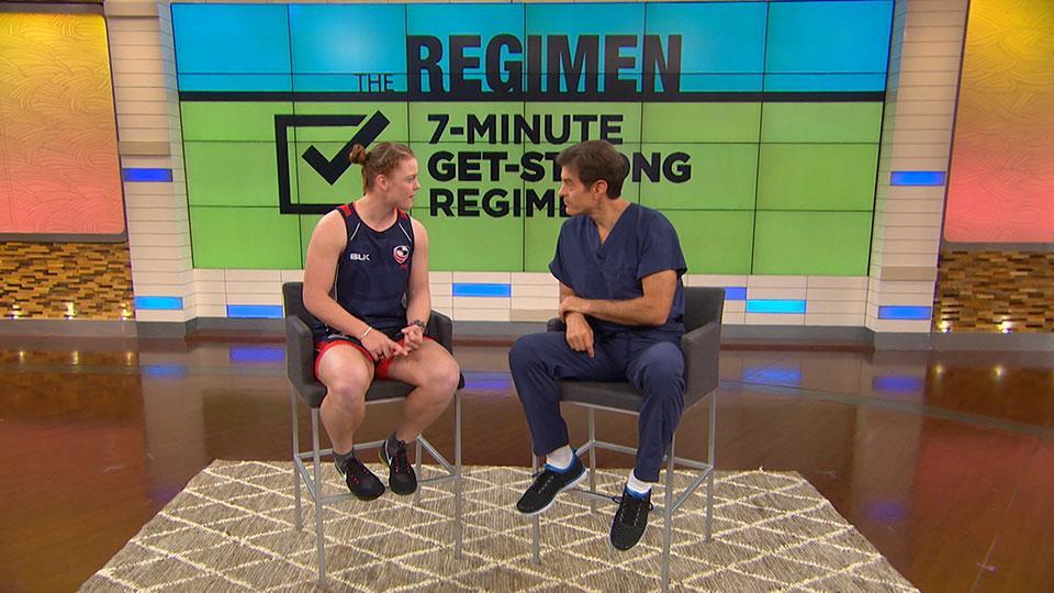U.S. Olympian Alev Kelter's Get-Strong Regimen