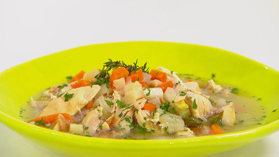 The Easiest Chicken Soup You'll Ever Make